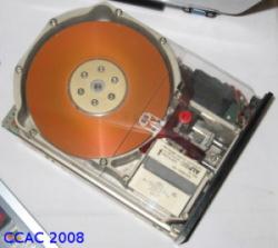 Innenleben Festplatte Studieninfotag 2008
