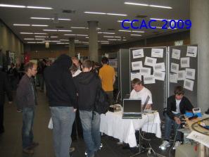 Unser Stand auf dem Studieninfotag 2009