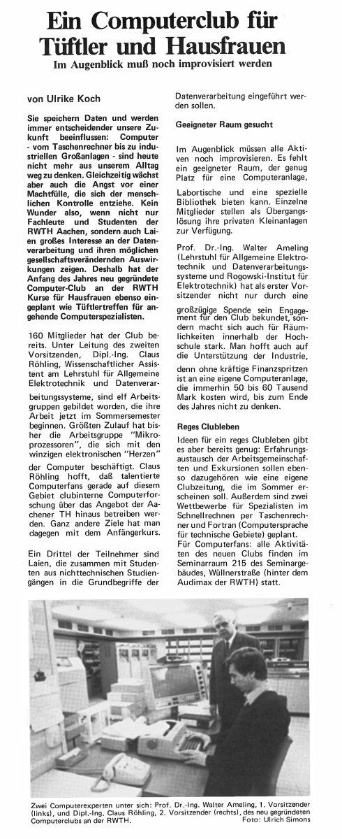 Beitrag Ulrike Koch AL 1980