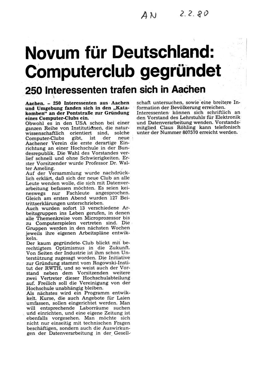 Beitrag AN 1980