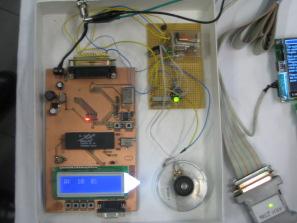 Microcontroller steuert Drehzahl