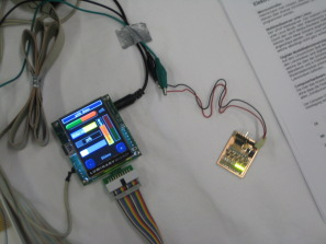 Microcontroller als Touchpad