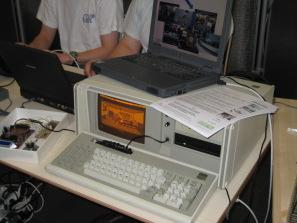 CCAC Studieninfotag: Linux, Computer, Microcontroller. Modellbahn