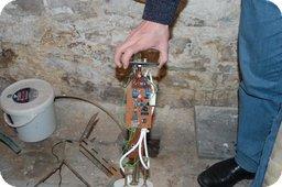 Microcontroller an Wasserpumpe