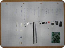 RoCA 2011 Bauteile