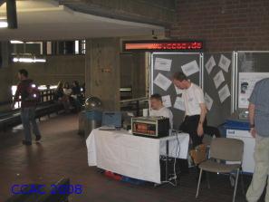 Aufbau Studieninfotag 2008