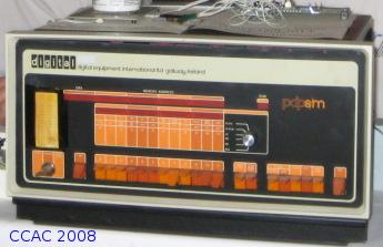 Uraltcomputer mit Ringkernspeicher Studieninfotag 2008